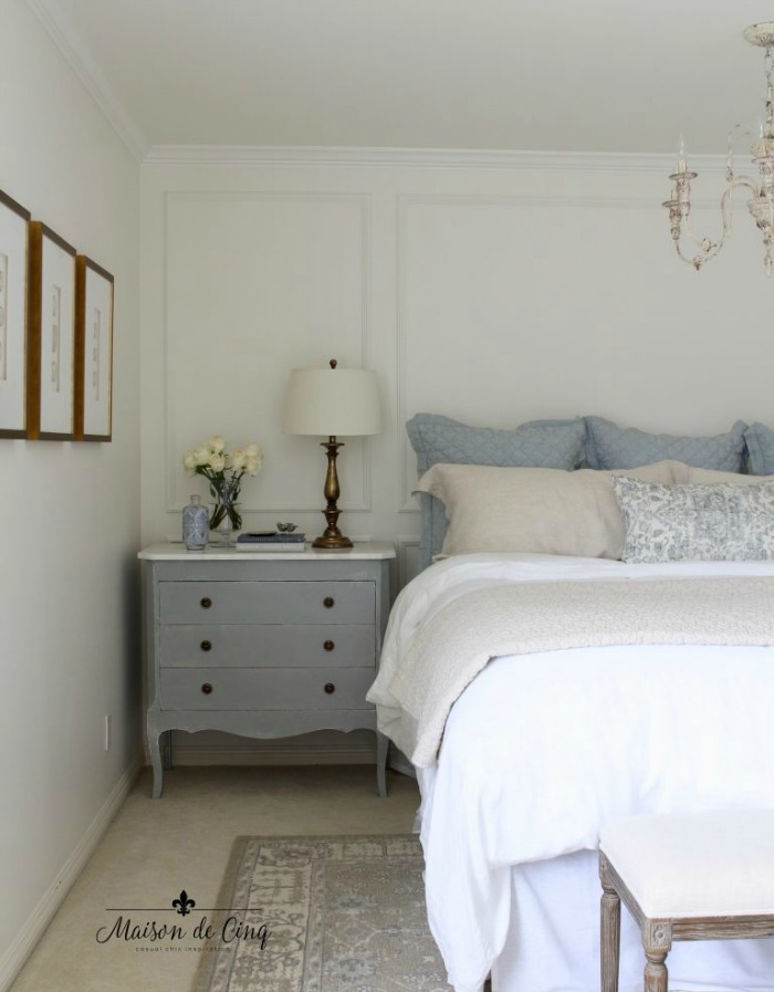 Benjamin Moore White Dove Bedroom Walls