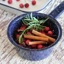 Fall Simmer Pot with Crabapples, Cinnamon Sticks and Rosemary
